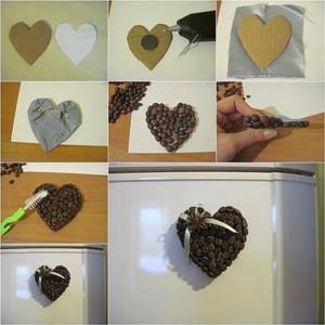 Сердечко магнит