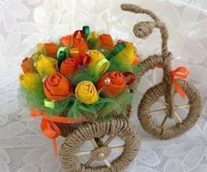 Велосипед горшочек своими руками