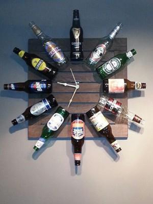 Часы любителя пива