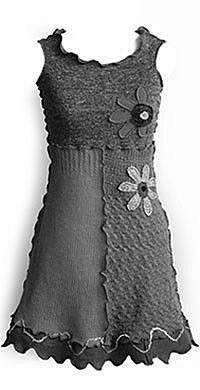 Сарафан из свитеров