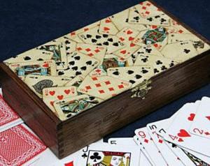 Карточный декор