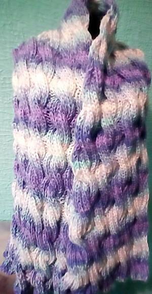 шарф из ко