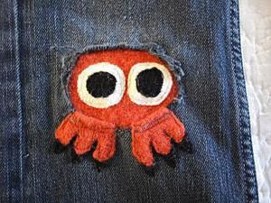 Оранжевый осьминог
