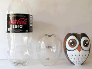 Сова из бутылки