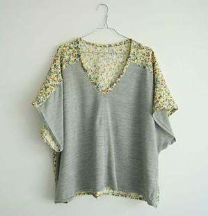 Из футболки - в блузку