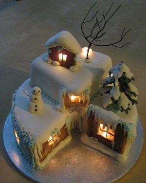 Торт для Нового года