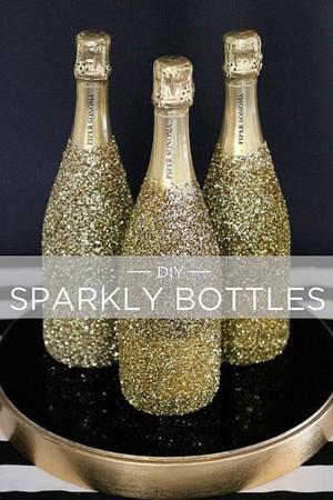 Блестящие бутылки