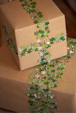 Простой декор коробки