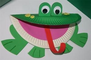 Как сделать лягушку