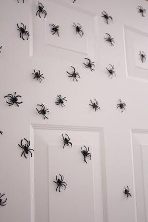 Пауки на стене