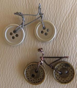 Велосипед из пуговиц
