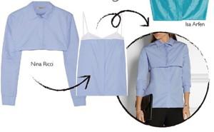 Двойная блузка