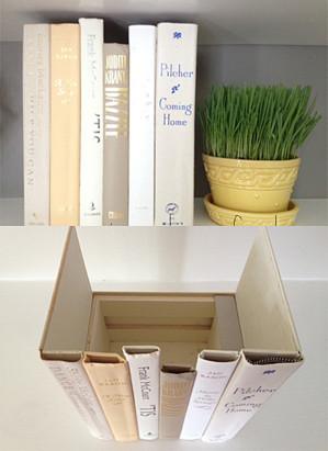 Ящик из книг