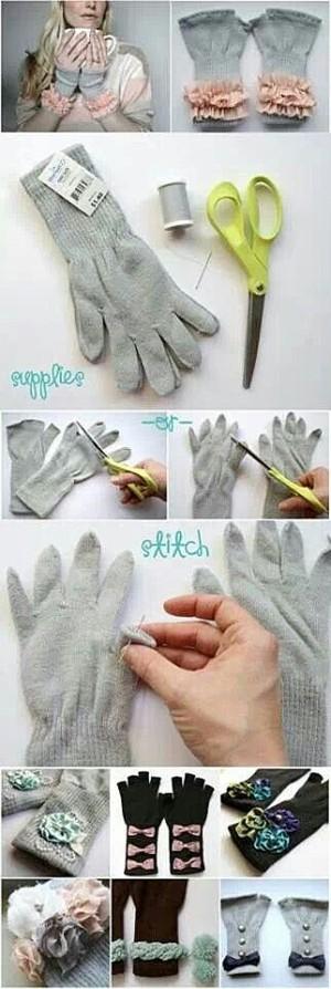 Переделка перчаток
