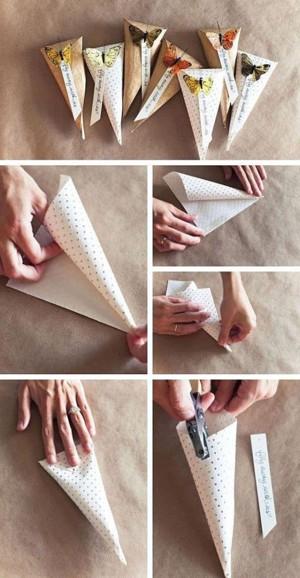 Упаковка из бумажного кулёчка