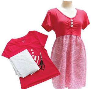 Летнее платье из футболки