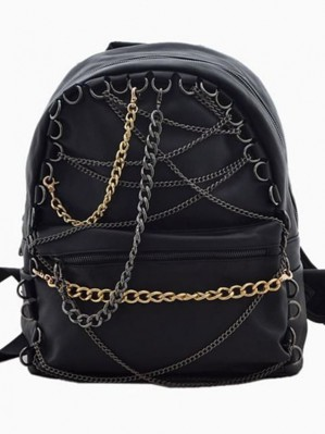 Рюкзак с цепями