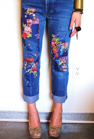 Броские джинсы