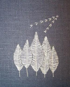 Осенняя вышивка