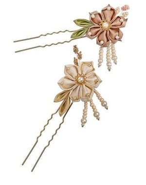 Шпилька с цветочком
