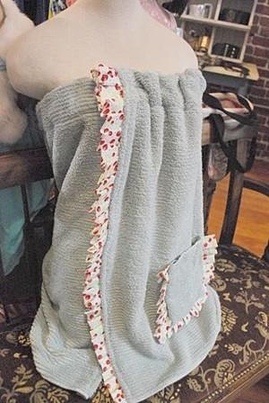 Полотенце на резинке