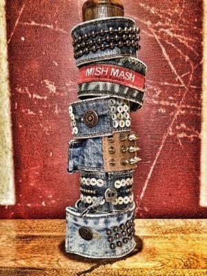 Джинсовые рок-браслеты