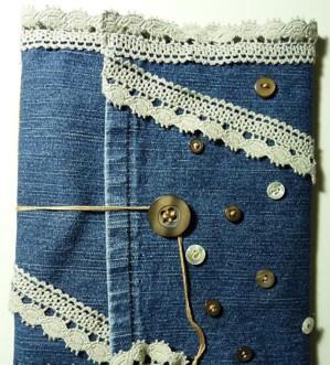 Обложка из штанины