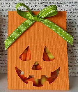 Яркий пакет для сладостей