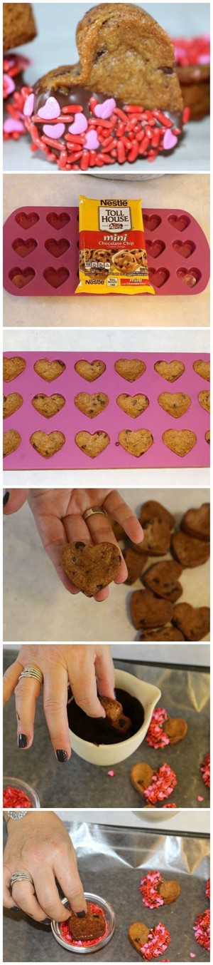Кексики сердечки