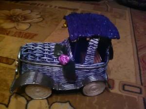 Фото из альбома плетение из газетных трубочек