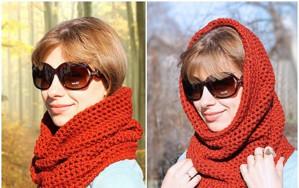 Универсальный шарф