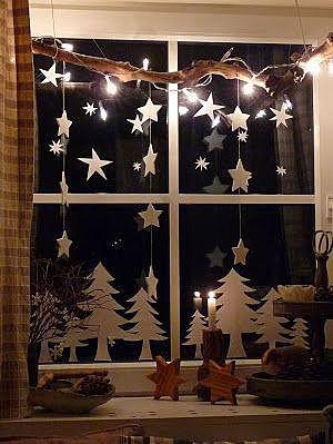 Декор на окнах