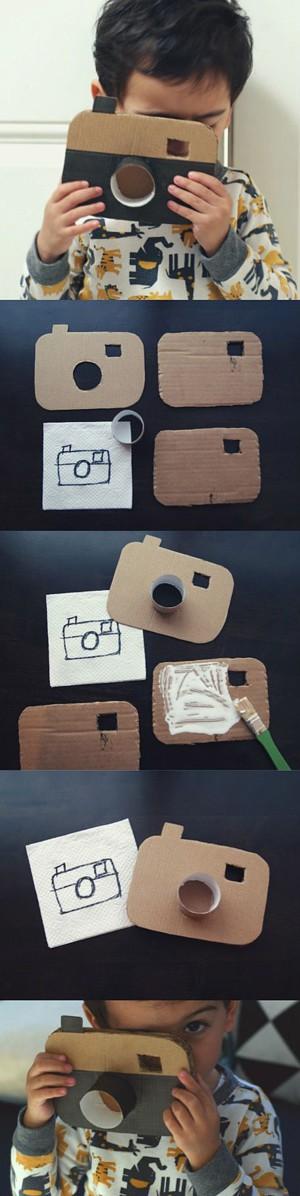 Картонный фотоаппарат