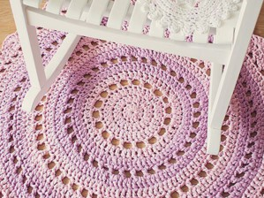 Лавандовый коврик