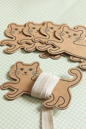 Катушки для ниток из картона