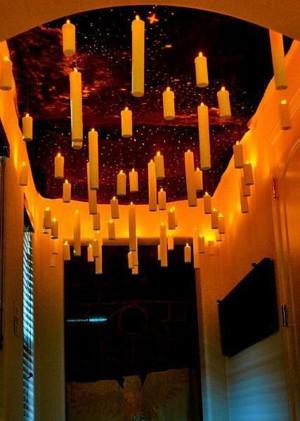 Парящие свечи