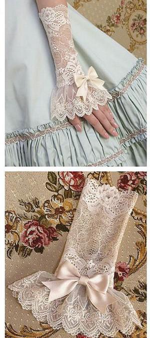 Перчатки на свадьбу