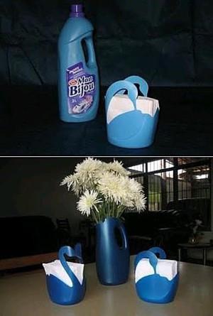 Лебедь из бутылки
