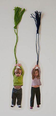 Дети с кисточками