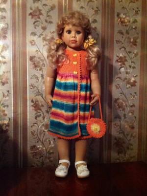 Фото из альбома Нарядные плать для маленьких принцесс!В наличии и на заказ!