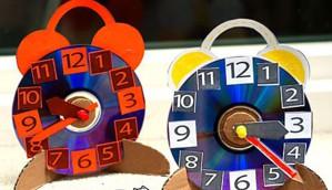 Будильники из компакт-дисков
