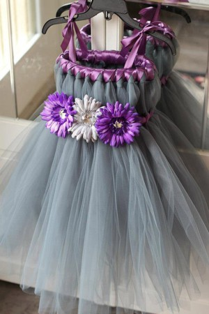 Декор для платья из фатина