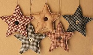 Тканевые звёзды