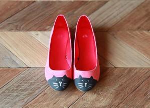 Туфли с котами