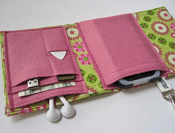 Сделать своими руками чехол книжку для телефона