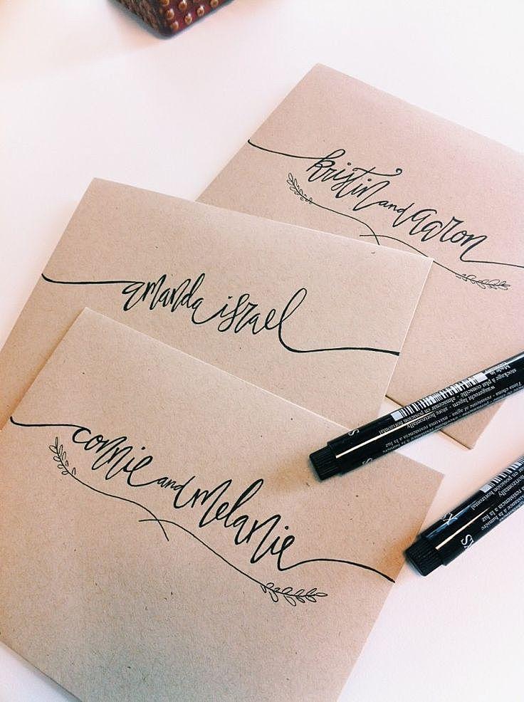 как украсить конверт своими руками