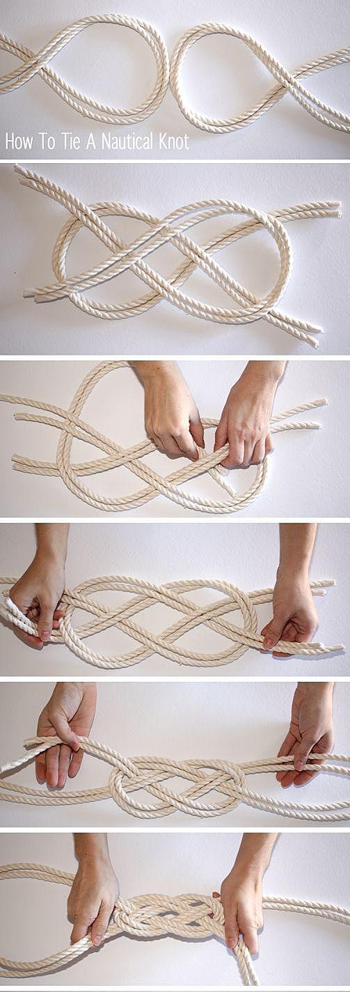 Пояс из веревки своими руками