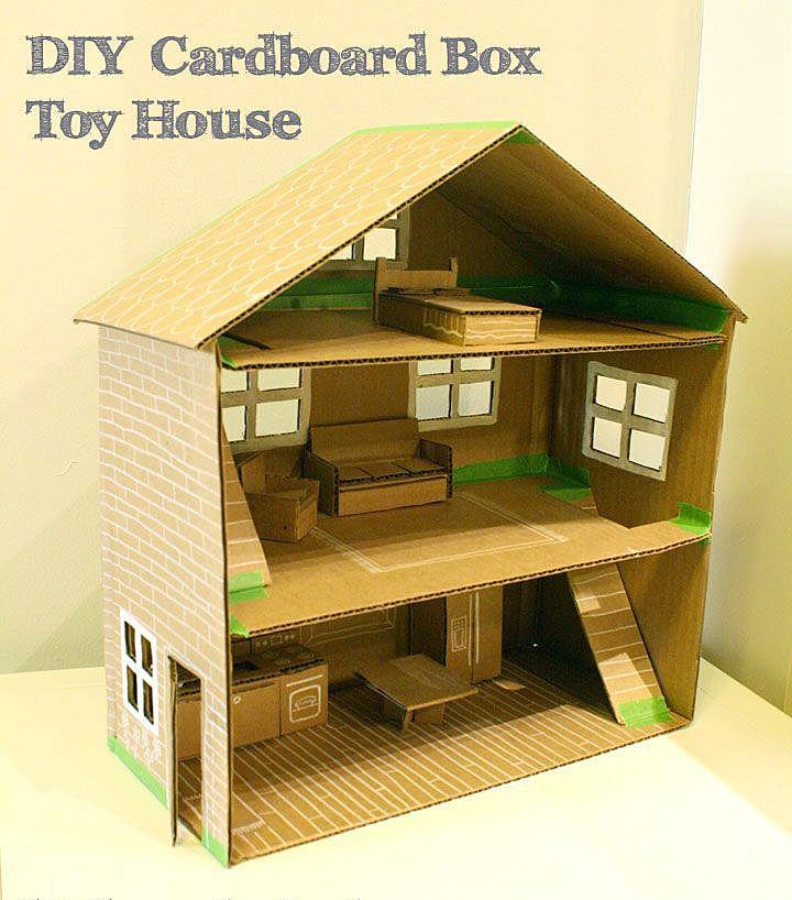 Мебель для кукол из коробок своими руками фото 327