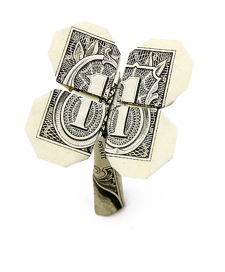 своими руками из денег.