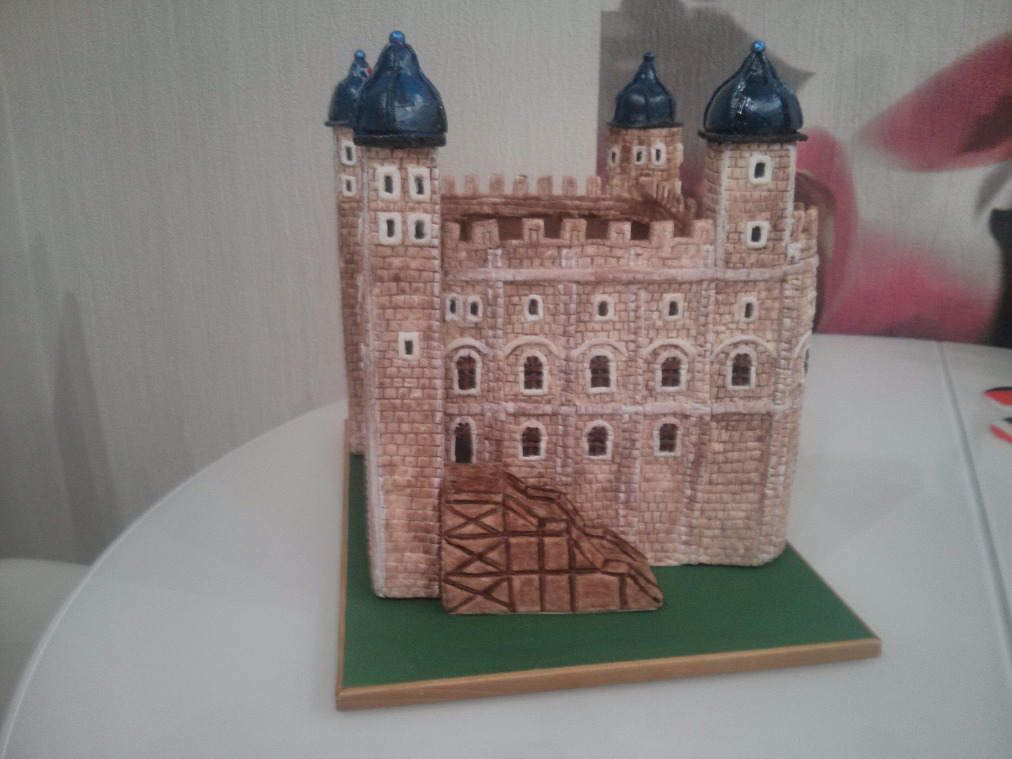 Замок из соленого теста своими руками